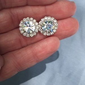 Jewelry - Cubic Zirconia Sterling Silver Earrings